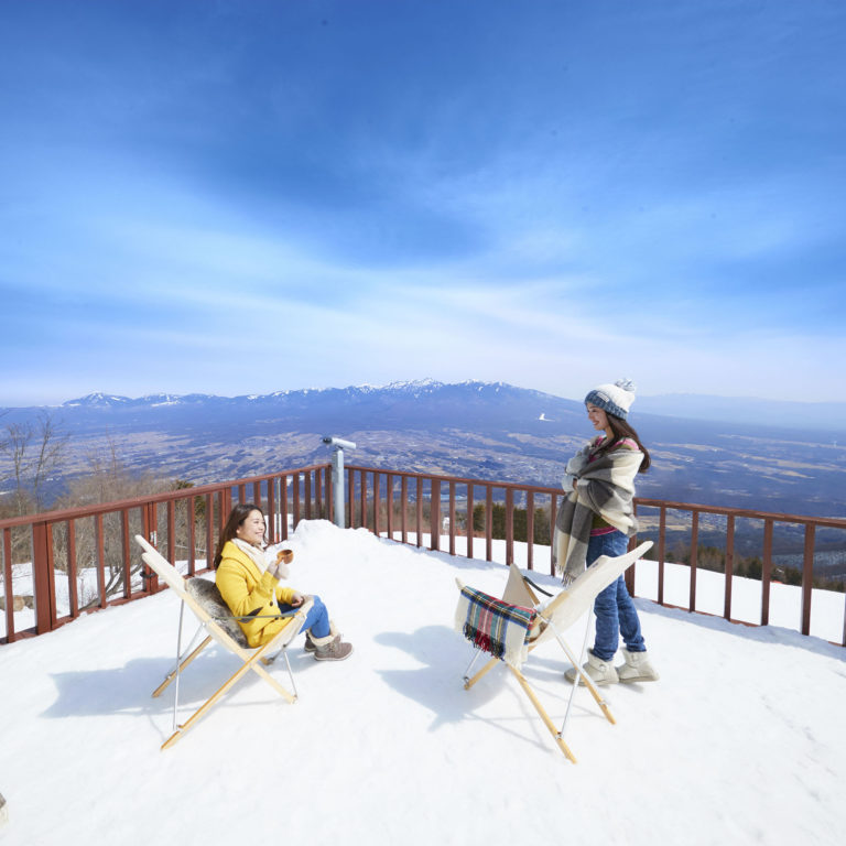 Easy access from tokyo enjoy snow resort in yamanashi for The terrace top date